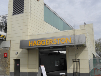 Haggerston Railway Station Building