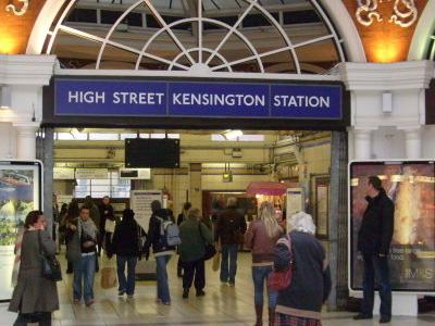 Inside Kensington Arcade