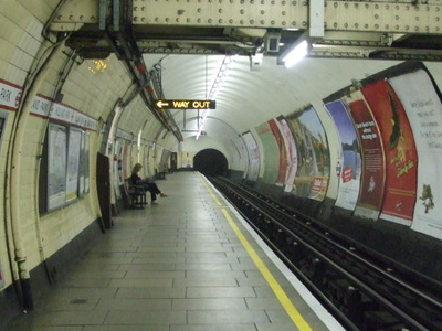 Eastbound Platform Looking West