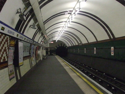 Eastbound Platform Looking South