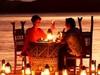 India Honeymoon Pontoon Dinner Lake