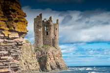 Keiss Castle Caithness Scotland