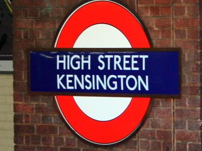 High Street Kensington Roundel