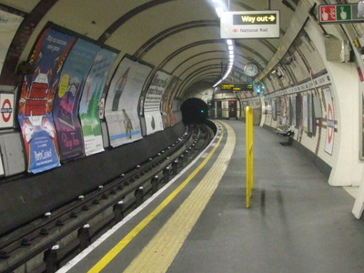 Northbound Northern Line Platform