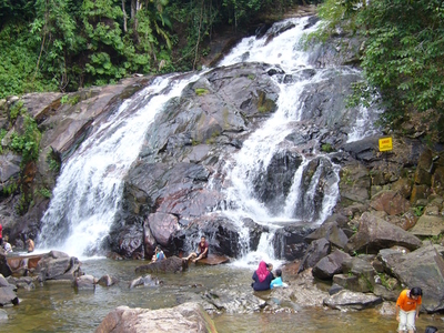 Kota Tinggi Waterfalls At Lombong