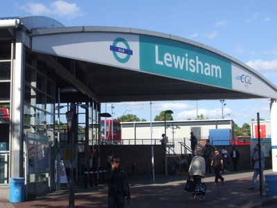 Lewisham DLR Entrance