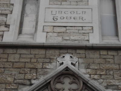 Name Plaque Of The Lincoln Tower