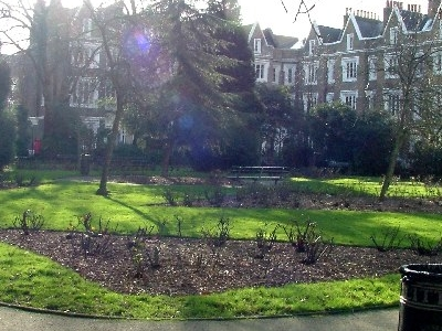Gardens In The Centre Of The Lonsdale Square