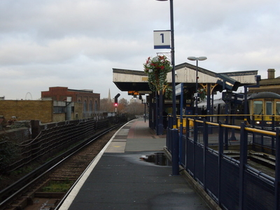Looking North From Platform 1