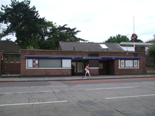 Manor House Tube Station Entrance