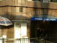 Mansion House Tube Station