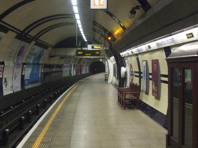 Northbound Platform Looking North
