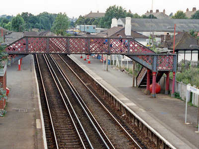 Mottingham Station Platforms