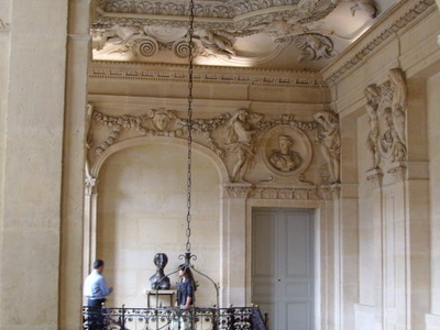 Stair Hall Of The Hôtel Salé