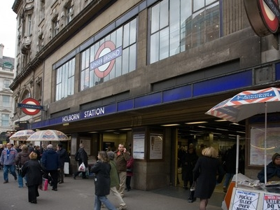Holborn Tube Station