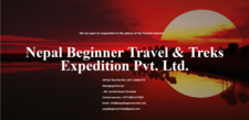 Proect Advertising Nepal Beginner Travels Treks