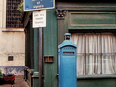 A Police Box On Eastcheap