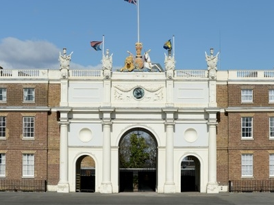 Central Gateway Of The Royal Artillery Barracks