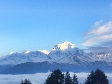 Stunning View Of Mt Dhaulagiri