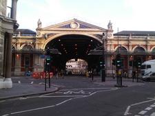Smithfield Market From Charterhouse Street