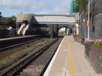 Platforms Looking North