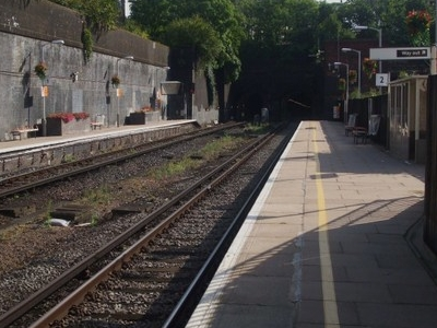 Platforms Looking Southbound