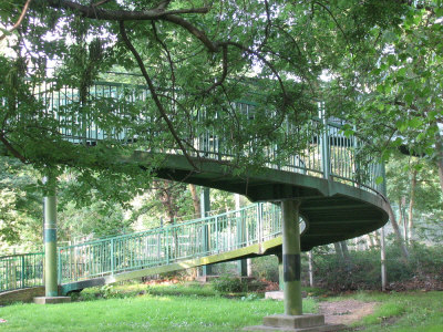 A Spiral Bridge