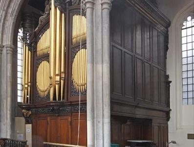 The Organ In St Andrew Undershaft