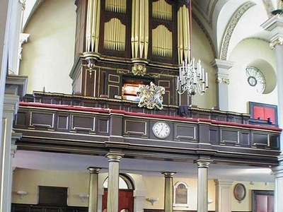 Showing The Organ