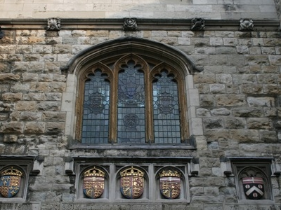 Detail Of Window And Shields