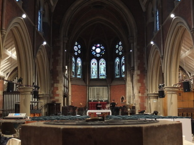 Facing East In The Nave