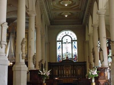 The Interior Of St Sepulchre