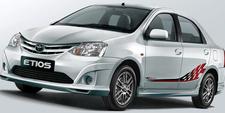 Toyota Etios Hire Delhi