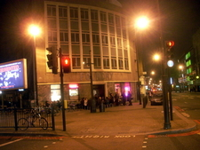 The Exterior Of The Foundry By Night