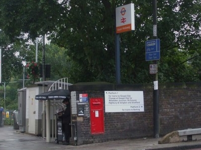 Upper Holloway Station Entrance