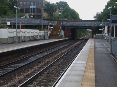 Platforms Looking East To Crouch Hill