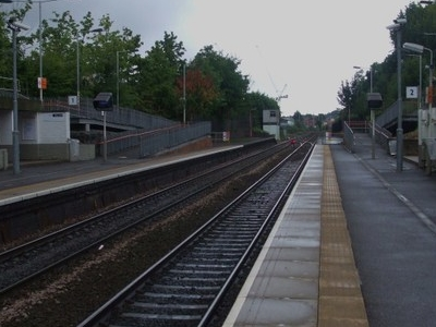 Platforms Looking West To Gospel Oak