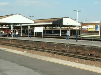 Vauxhall Railway Station Platforms
