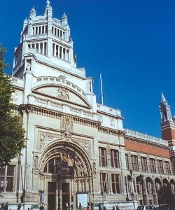 The Main Entrance Of The Victoria And Albert Museum
