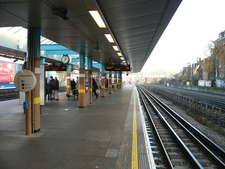 West Hampstead Tube Station Platforms