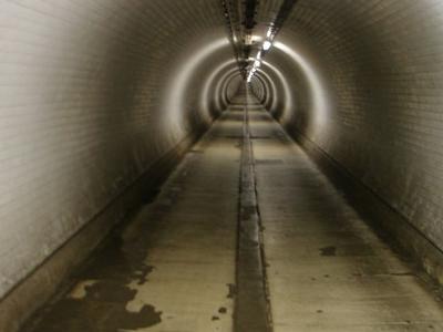 Inside Woolwich Foot Tunnel