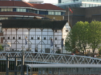 The Pier And Shakespeare's Globe