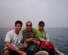 Family At Karachi Scuba Diving Centre