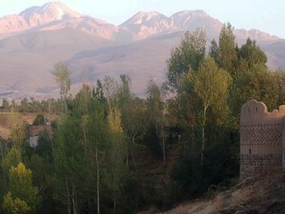 Arshoq  Castle And  Sabalan