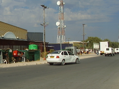 A View Of A Ghanzi Street