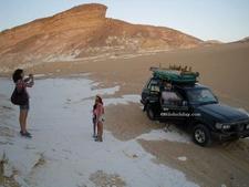 Bahariya Oasis And White Desert
