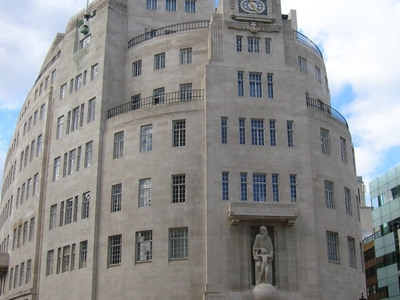 The BBC's Broadcasting House