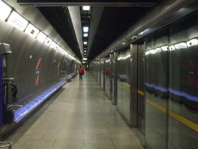 Eastbound Platform Looking West