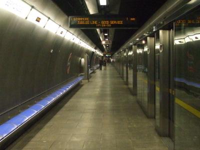 Westbound Platform Looking East