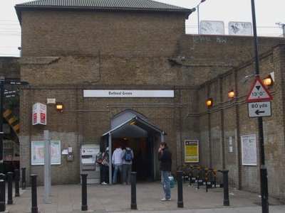 Bethnal Green Railway Station Entrance